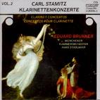 CLARINET CONCERTOS VOL.2/ EDUARD BRUNNER