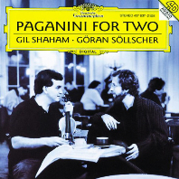 PAGANINI FOR TWO/ GIL SHAHAM, GORAN SOLLSCHER [파가니니: 바이올린과 기타를 위한 작품집 - 길 샤함 & 외란 쇨셔]
