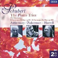 PIANO TRIOS 1 & 2/ VLADIMIR ASHKENAZY, PINCHAS ZUKERMAN, LYNN HARRELL [슈베르트: 피아노 트리오 - 아쉬케나지, 주커만, 하렐]