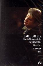 EMIL GILELS IN MOSCOW VOL.4 1978 [에밀 길렐스 인 모스크바 VOL.4]