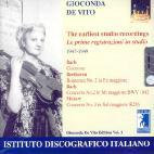GIOCONDA DE VITO EDITION VOL.1