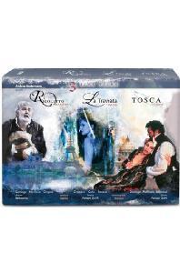 VERDI: RIGOLETTO, LA TRAVIATA & PUCCINI: TOSCA [오페라 영화 3부작 디럭스 박스: 푸치니 & 베르디] [한글자막]
