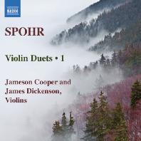 VIOLIN DUETS 1/ JAMESON COOPER, JAMES DICKENSON [슈포어: 바이올린 이중주 1집 - 쿠퍼 & 디킨슨]
