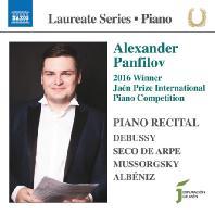 PIANO RECITAL/ ALEXANDER PANFILOV [알렉산드르 판필로프: 피아노 리사이틀]