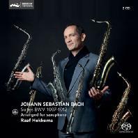 SUITES BWV 1007-1012/ RALF HEKKEMA [SACD HYBRID] [바흐: 무반주 첼로 모음곡 전곡(색소폰 연주) | 라프 헤케마]