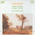 PIANO SONATAS D.960,958