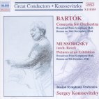 CONCERTO FOR ORCHESTRA/ PICTURES AT AN EXHIBITION/ SERGEY KOUSSEVITZKY