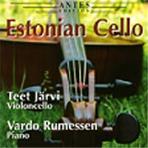 ESTONIAN CELLO/ TEET JARVI/ VARDO RUMESSEN