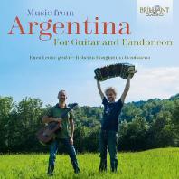 MUSIC FROM ARGENTINA FOR GUITAR AND BANDONEON/ ENEA LEONE, ROBERTO BONGIANINO [기타와 반도네온을 위한 아르헨티나 음악]
