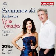 VIOLIN CONCERTOS/ TASMIN LITTLE, EDWARD GARDNER [SACD HYBRID] [시마노프스키 & 카를로비치: 바이올린 협주곡 - 리틀 & 가드너]