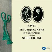 THE COMPLETE WORKS FOR SOLO PIANO/ WALTER GIESEKING [ORIGINAL JACKET] [라벨: 피아노 솔로 작품 전집 - 발터 기제킹]
