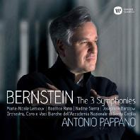 THE 3 SYMPHONIES/ ANTONIO PAPPANO [번스타인: 교향곡 1-3번 전곡, <전주곡, 푸가와 리프> | 안토니오 파파노]
