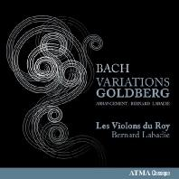 VARIATIONS GOLDBERG/ LES VIOLONS DU ROY, BERNARD LABADIE [바흐: 골드베르크 변주곡 (현악 앙상블 버전)]