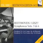 SYMPHONIES VOLS.5 & 6: PIANO TRANSCRIPTIONS/ IDIL BIRET [BEETHOVEN EDITION 11]