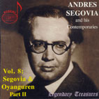 SEGOVIA & HIS CONTEMPORARIES VOL.8