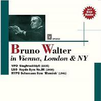 IN VIENNA, LONDON & NY/ BRUNO WALTER [브루노 발터가 지휘하는 빈, 런던, 뉴욕 필하모닉 오케스트라]