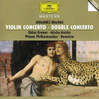 VIOLIN & DOUBLE CONCERTO/ GIDON KREMER, MISCHA MAISKY, LEONARD BERNSTEIN [브람스: 바이올린, 더블 협주곡 - 크레머, 마이스키, 번스타인]
