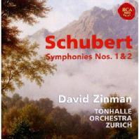SYMPHONIES NOS.1 & 2/ DAVID ZINMAN [슈베르트 교향곡 1&2번: 톤할레 쮜리히 오케스트라&데이빗 진만]