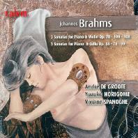 SONATAS FOR PIANO & VIOLIN, CELLO/ YUZUKO HORIGOME, VIVIANE SPANOGHE, ANDRE DE GROOTE