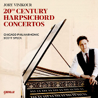 20TH CENTURY HARPSICHORD CONCERTOS/ SCOTT SPECK [20세기 하프시코드 협주곡 - 시카고 필하모닉, 조리 비니커]