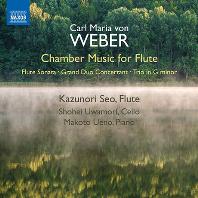 CHAMBER MUSIC FOR FLUTE/ KAZUNORI SEO [베버: 플루트를 위한 실내악 작품집 - 카즈노리 세오]