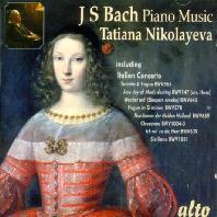 PIANO MUSIC/ TATIANA NIKOLAYEVA [바흐: 피아노 작품집 - 타티아나 니콜라예바]