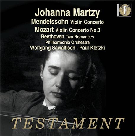VIOLIN CONCERTOS/ JOHANNA MARTZY, WOLFGANG SAWALLISCH [요한나 마르치 미공개 EMI 녹음: 모차르트 & 멘델스존 바이올린 협주곡]