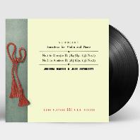 SONATINAS FOR VIOLIN AND PIANO NOS.1 & 2/ JOHANNA MARTZY, JEAN ANTONIETTI [슈베르트: 바이올린과 피아노를 위한 작품 전곡 1집 - 요한나 마르치] [180G LP]