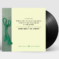 RONDEAU BRILLANT & FANTASIE/ JOHANNA MARTZY, JEAN ANTONIETTI [슈베르트: 바이올린과 피아노를 위한 작품 전곡 3집 - 요한나 마르치] [180G LP]