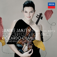 VIOLIN CONCERTO & ROMANCE/ JANINE JANSEN, RICCARDO CHAILLY [멘델스존: 바이올린 협주곡 & 브루흐: 로망스 - 야니네 얀센]