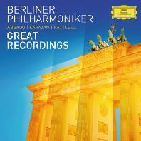 GREAT RECORDINGS/ CLAUDIO ABBADO, HERBERT VON KARAJAN, SIMON RATTLE [베를린 필: 8개의 위대한 녹음]