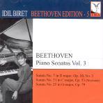 PIANO SONATAS NO.7,21,25/ IDIL BIRET [BEETHOVEN EDITION.5]