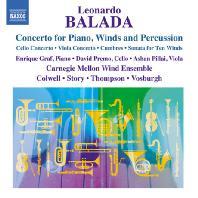 CONCERTO FOR PIANO, WINDS & PERCUSSION/ CARNEGIE MELLON WIND ENSEMBLE [발라다: 피아노, 목관 그리고 타악기를 위한 협주곡, 첼로와 9 연주자를 위한 협주곡 외]