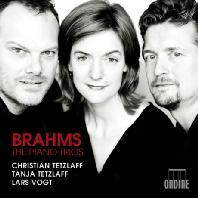 PIANO TRIO NOS.1-3/ CHRISTIAN TETZLAFF, TANJA TETZLAFF, LARS VOGT [브람스: 피아노 트리오]