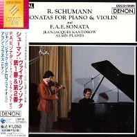 2 SONATAS FOR PIANO & VIOLIN, F.A.E SONATA/ JEAN-JAQUES KANTOROW, ALAIN PLANES [슈만: 바이올린 소나타 - 칸토로프, 플라네]
