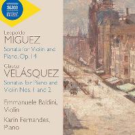 SONATA FOR VIOLIN & PIANOS/ EMMANUELE BALDINI, KARIN FERNANDES [미구에스 & 벨라스케스: 바이올린 소나타 - 엠마누엘 발디니]