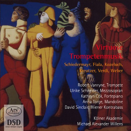VIRTUOSE TROMPETENMUSIK/ ROBERT VANRYNE, MICHAEL ALEXANDER WILLENS [FORGOTTEN TREASURES VOL.9] [SACD HYBRID]