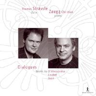 DIALOGUES: WORKS FOR FLUTE AND PIANO/ THOMAS STRASSLE/ ZAUGG CHRISTIAN [20세기 플룻 걸작 소나타]
