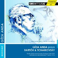 BARTOK & TCHAIKOVSKY: PIANO CONCERTOS/ HANS MULLER-KRAY [게자 안다: 헨슬러 히스토리컬 아카이브 5]