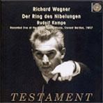 DER RING DES NIBELUNGEN/ RUDOLF KEMPE [바그너: 링 사이클-코벤트가든 1957]