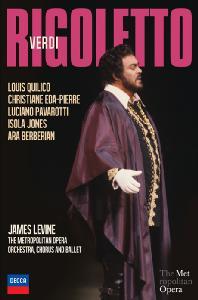 RIGOLETTO/ LUCIANO PAVAROTTI, JAMES LEVINE [베르디: 리골레토]