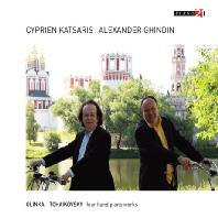 FOUR HANDS PIANO WORKS/ ALEXANDER GHINDIN, CYPRIEN KATSARIS [시프리앙 카차리스: 네 손을 위한 러시아 피아노 음악 - 글린카, 차이코프스키]