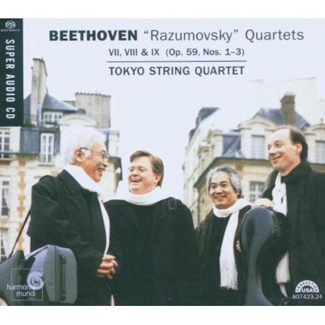 RAZUMOVSKY QUARTETS OP.59/ TOKYO STRING QUARTET [SACD HYBRID]