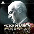 REQUIEM K.626/ VICTORIA DE SABATA