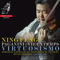 VIRTUOSISMO/ NING FENG, ROSSEN MILANOV [파가니니: 바이올린 협주곡 1번 & 비외탕: 바이올린 협주곡 4번 - 닝펑]
