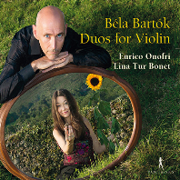 DUOS FOR VIOLIN/ ENRICO ONOFRI, LINA TUR BONET [바르톡: 바이올린 이중주 & 비발디: 두 대의 바이올린을 위한 소나타 - 엔리코 오노프리, 리나 투어 보네트]