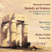 ROSINDA ED EMIRENO: ARIAS & DUETS FROM THE OPERA/ ALICE BORCIANI, ALEX POTTER, DANIELA DOLCI [알레산드로 스카를라티: 로진다와 에미레노 - 아리아와 이중창 모음]