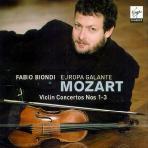 VIOLIN CONCERTOS/ FABIO BIONDI/ EUROPA GALANTE