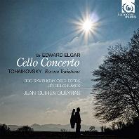 CELLO CONCERTO & ROCOCO VARIATIONS/ JEAN-GUIHEN QUEYRAS, JIRI BELOHLAVEK [장-기앙 케라스: 엘가 첼로 협주곡 & 차이코프스키 로코코 주제에 의한 변주곡]