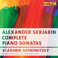 COMPLETE PIANO SONATAS/ VLADIMIR SOFRONITZKY, HEINRICH NEUHAUS, SVIATOSLAV RICHTER [스크리아빈: 피아노 소나타 전곡]